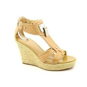 Marc Fisher Womens Colada Leather Sandals Wedge